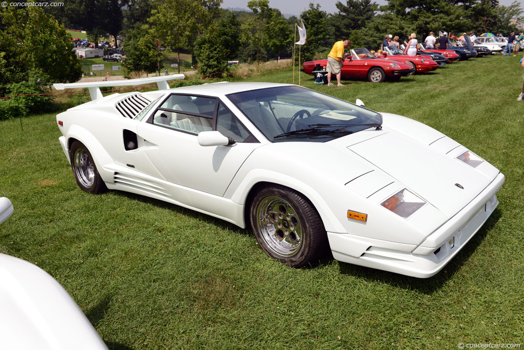 1989 Lamborghini Countach 25th Anniversary Countach 25