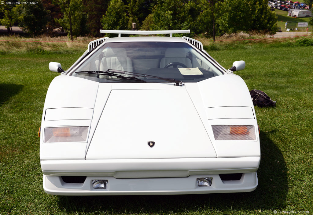 1989 lamborghini countach 25th anniversary at the pittsburgh vintage grand prix. Black Bedroom Furniture Sets. Home Design Ideas