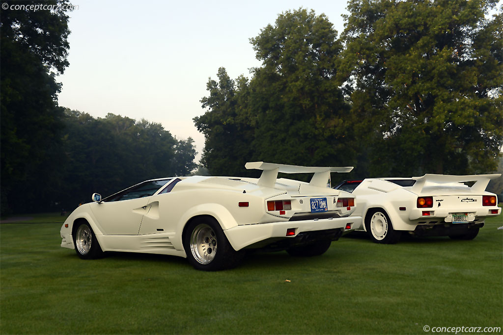Auction Results And Data For 1989 Lamborghini Countach 25th Anniversary Conceptcarz Com