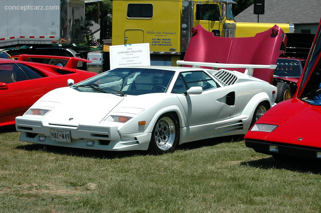 auction results and data for 1989 lamborghini countach 25th anniversary. Black Bedroom Furniture Sets. Home Design Ideas