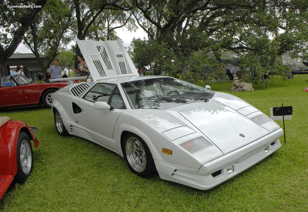 1989 lamborghini countach 25th anniversary at the keels. Black Bedroom Furniture Sets. Home Design Ideas