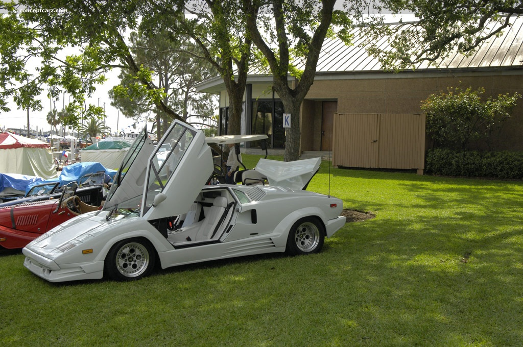 1989 lamborghini countach 25th anniversary at the keels wheels concours. Black Bedroom Furniture Sets. Home Design Ideas