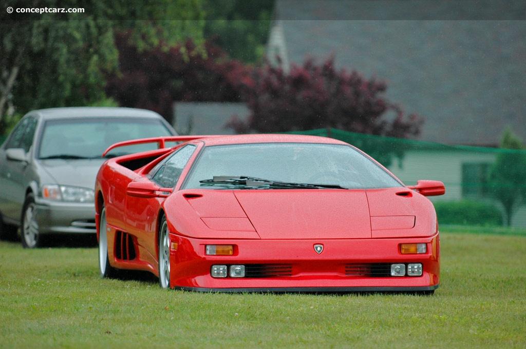1994 Lamborghini Diablo Se30 Image Chassis Number La12027