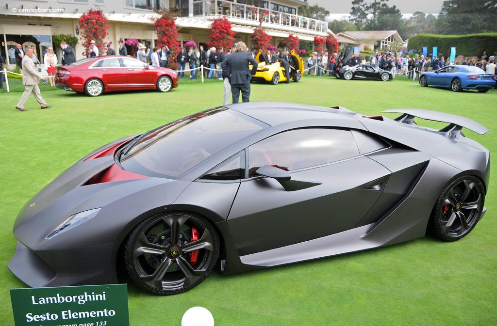 2010 Lamborghini Sesto Elemento Concept Wallpapers