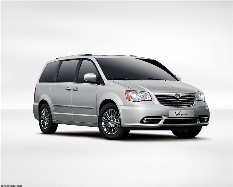 2012 Lancia Grand Voyager pictures and wallpaper