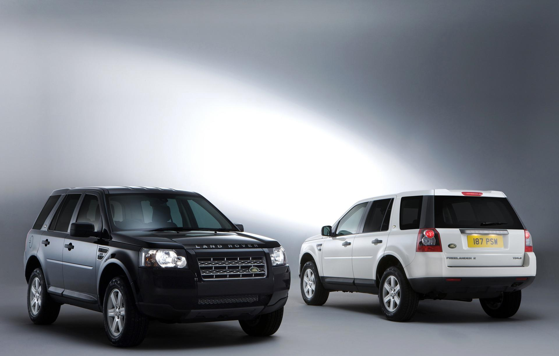 Land Rover Freelander 2 White & Black Edition pictures and wallpaper