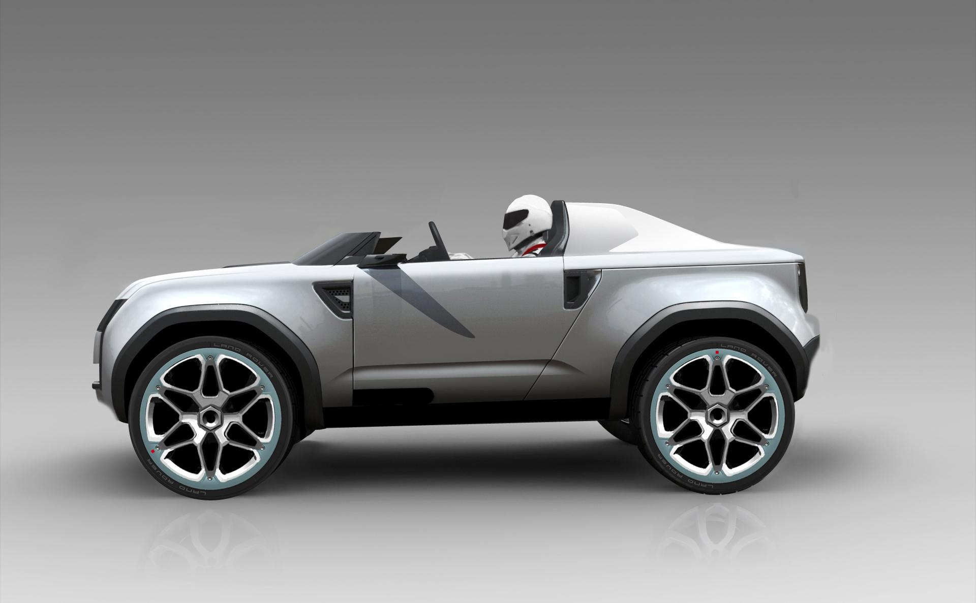 2012 Land Rover DC100 Sport Concept Pictures News Research