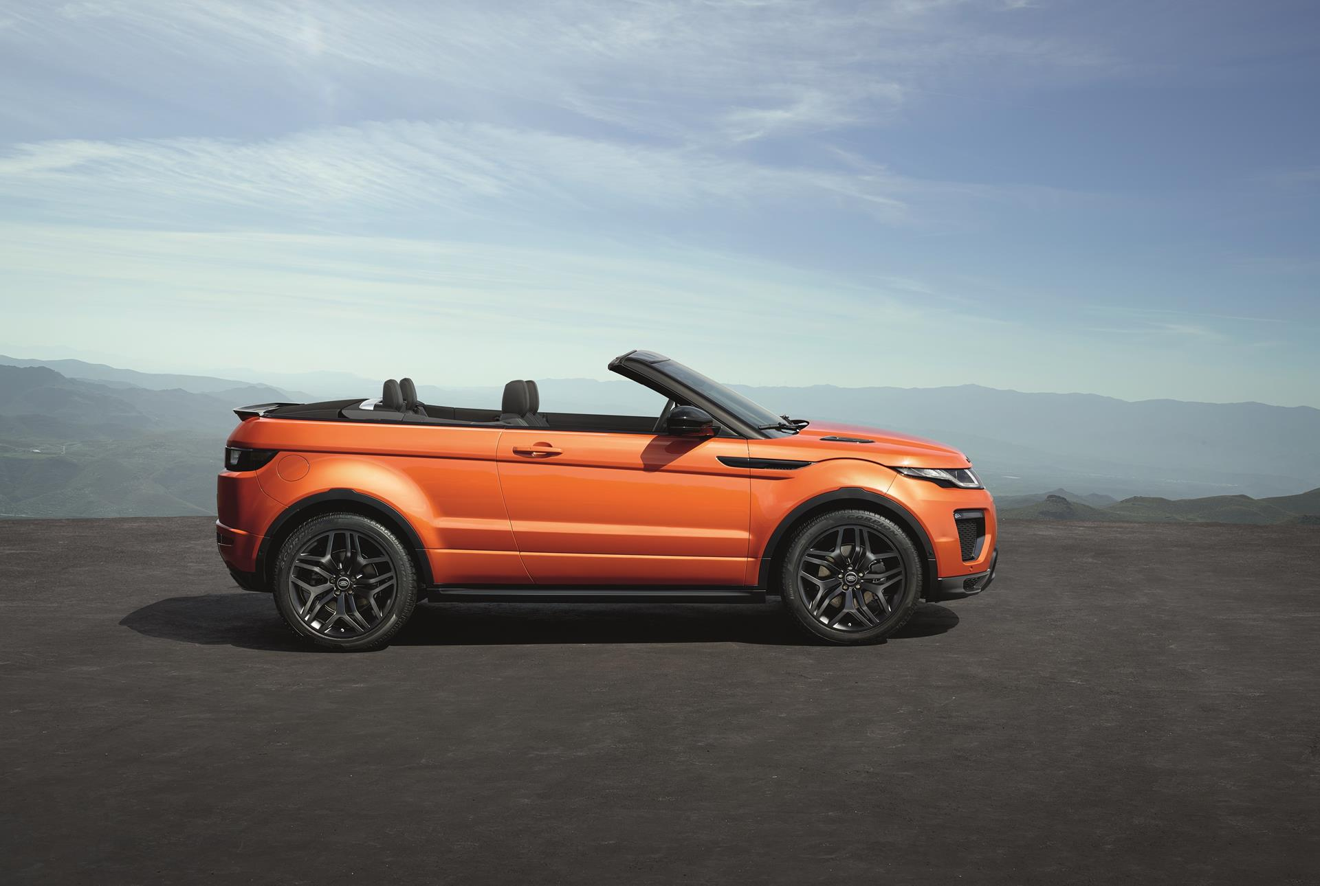 2016 land rover range rover evoque convertible image. Black Bedroom Furniture Sets. Home Design Ideas