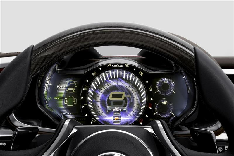 2012 Lexus LF-LC Concept Image