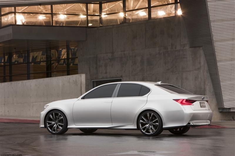 2011 Lexus LF-Gh Hybrid Concept Image