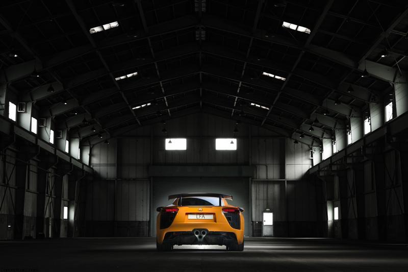 2012 Lexus LFA Nurburgring Package