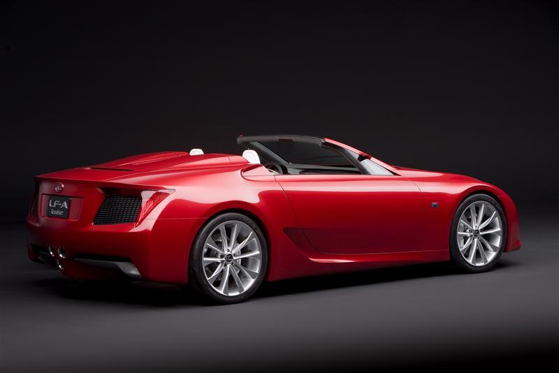 2008 Lexus LF-A Roadster Concept