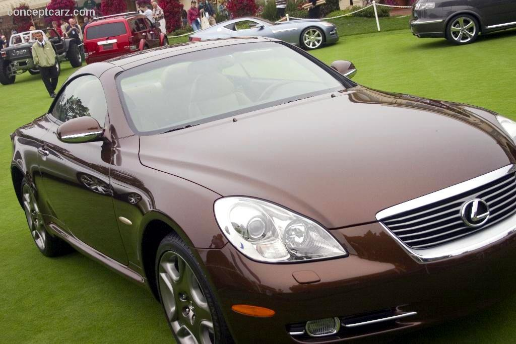 Images shown are representations of the 2005 lexus sc 430 pebble beach