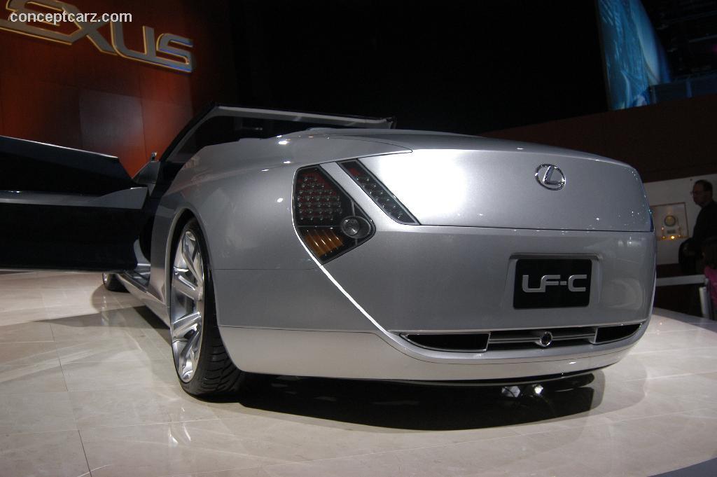 2005 Lexus LF-C Concept Image