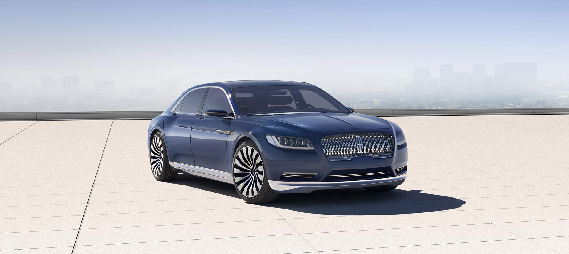2015 lincoln continental concept pictures news research pricing. Black Bedroom Furniture Sets. Home Design Ideas