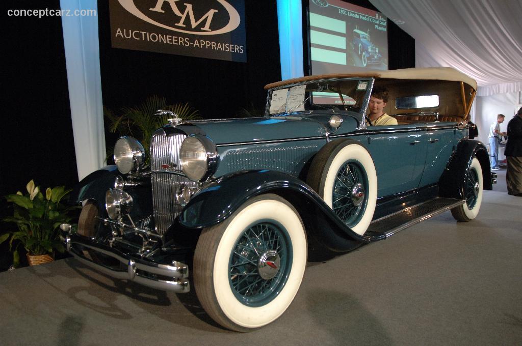 1931 Lincoln Model K Image