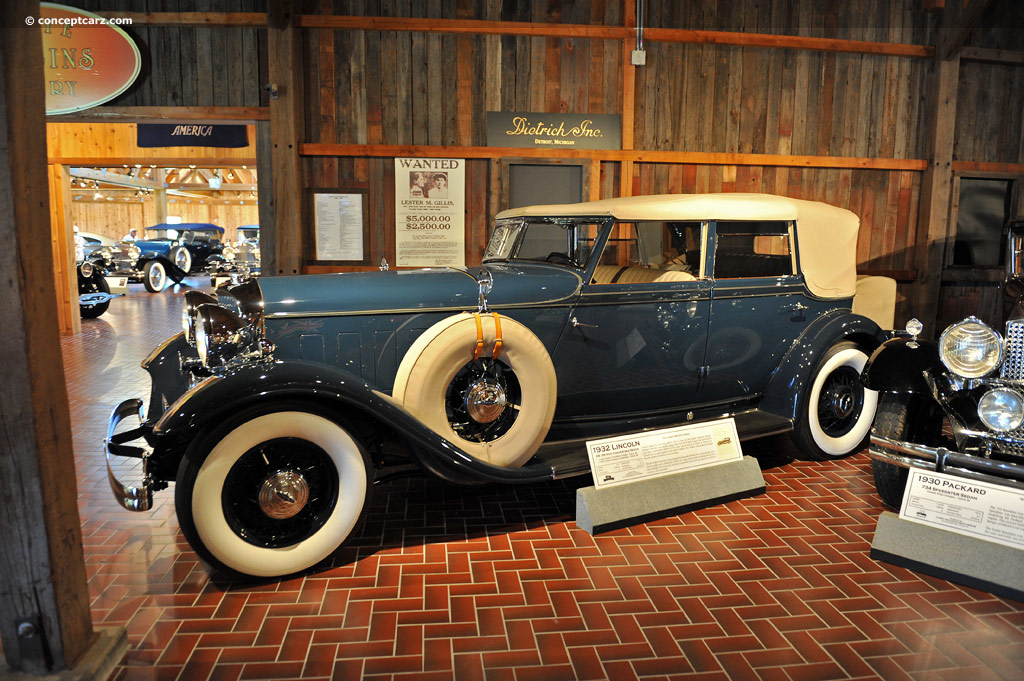 1932 lincoln model kb at the gilmore car museum for Cadillac motor car company