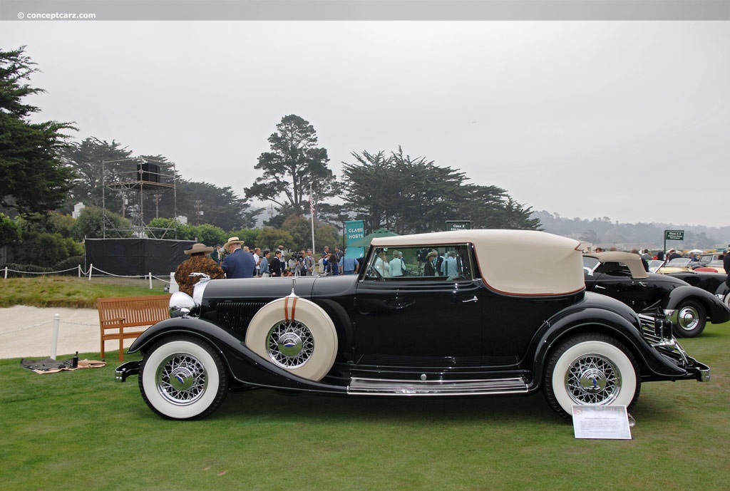 1933 Lincoln Model Kb At The Pebble Beach Concours D Elegance