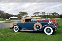 1933 Lincoln Model KB image.