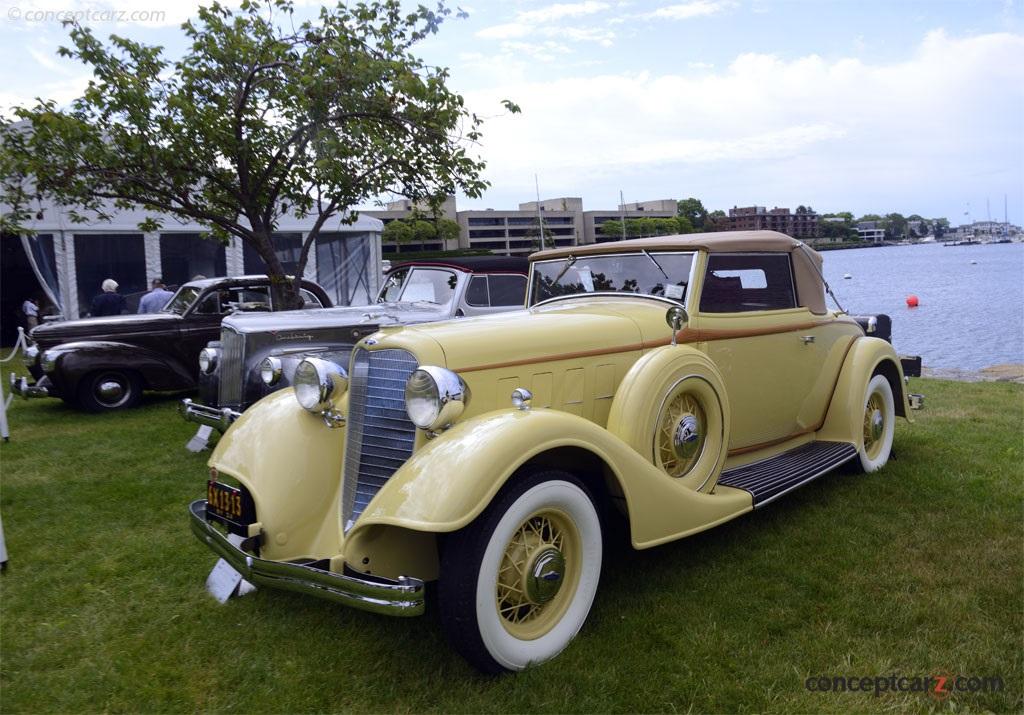 1934 Lincoln Model KA Series 521 photos