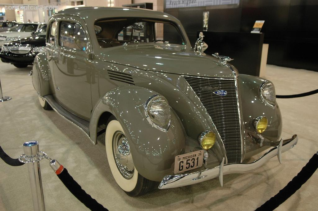 Auction Results And Data For 1936 Lincoln Zephyr