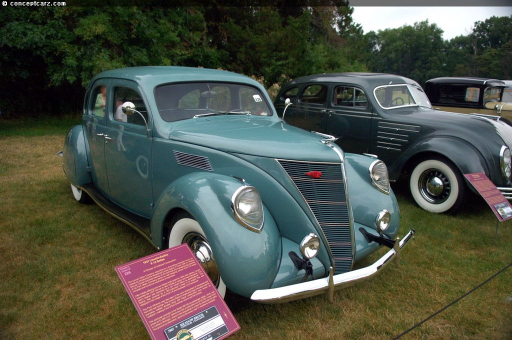 1937 lincoln zephyr at the meadow brook concours d 39 elegance. Black Bedroom Furniture Sets. Home Design Ideas