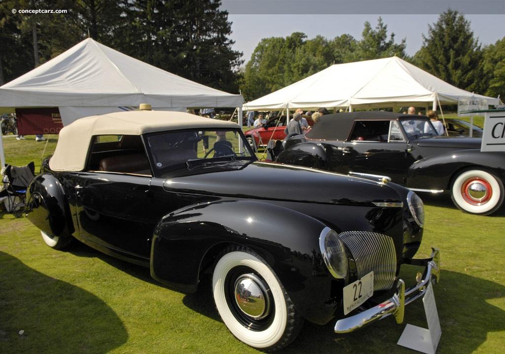 1939 lincoln zephyr series 96h conceptcarzcom