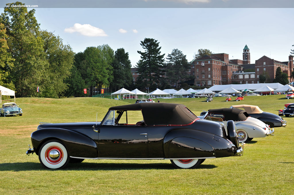 1940 lincoln continental at the glenmoor gathering of significant automobiles. Black Bedroom Furniture Sets. Home Design Ideas