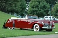 1940 Lincoln Zephyr image.