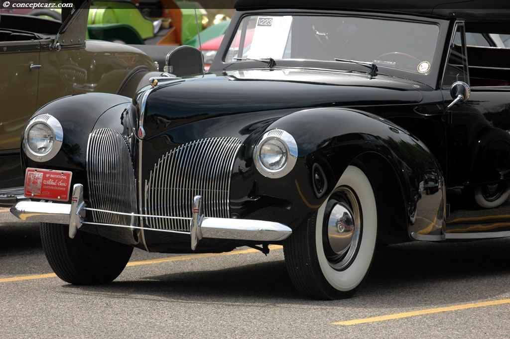 1940 lincoln zephyr continental convertible 1940 lincoln. Black Bedroom Furniture Sets. Home Design Ideas