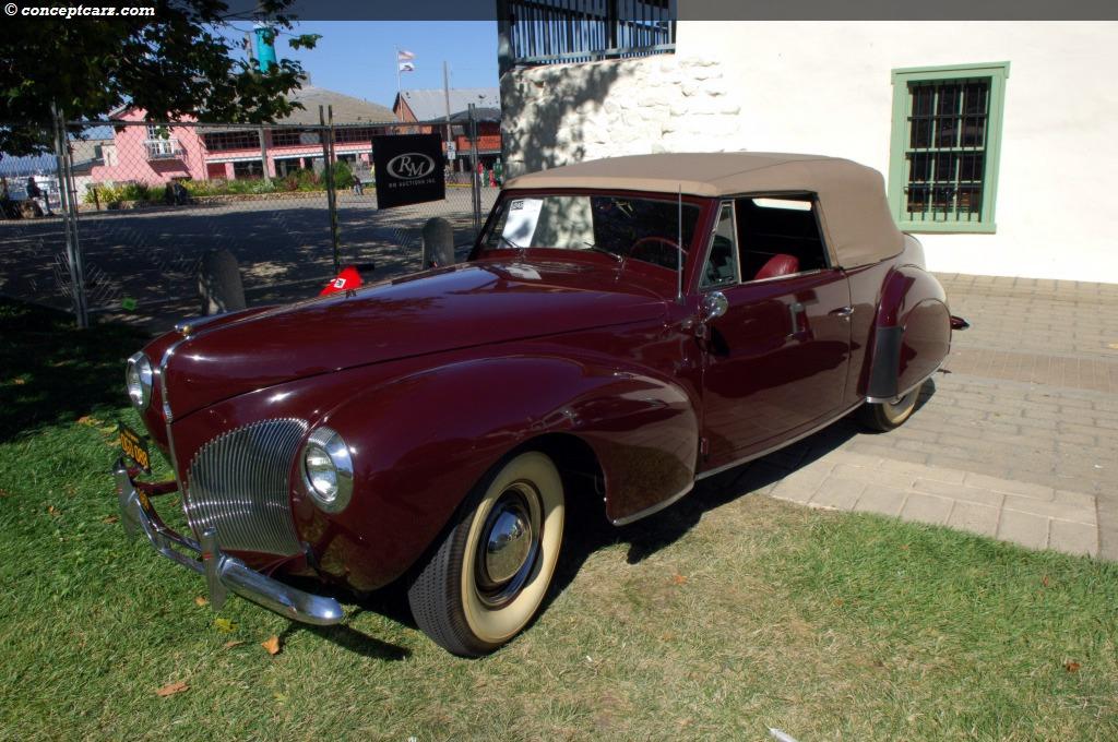 1940 lincoln zephyr image chassis number h100569. Black Bedroom Furniture Sets. Home Design Ideas