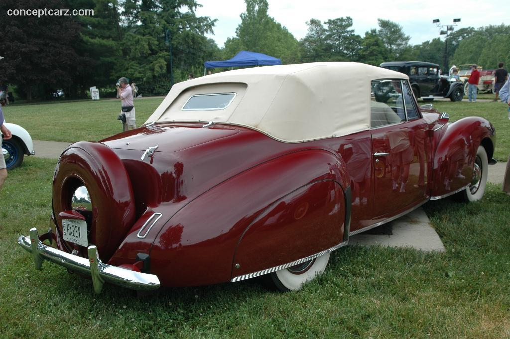 auction results and data for 1940 lincoln zephyr monterey sports and classic car auction. Black Bedroom Furniture Sets. Home Design Ideas