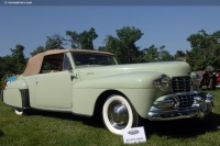 1946 Lincoln Continental image.