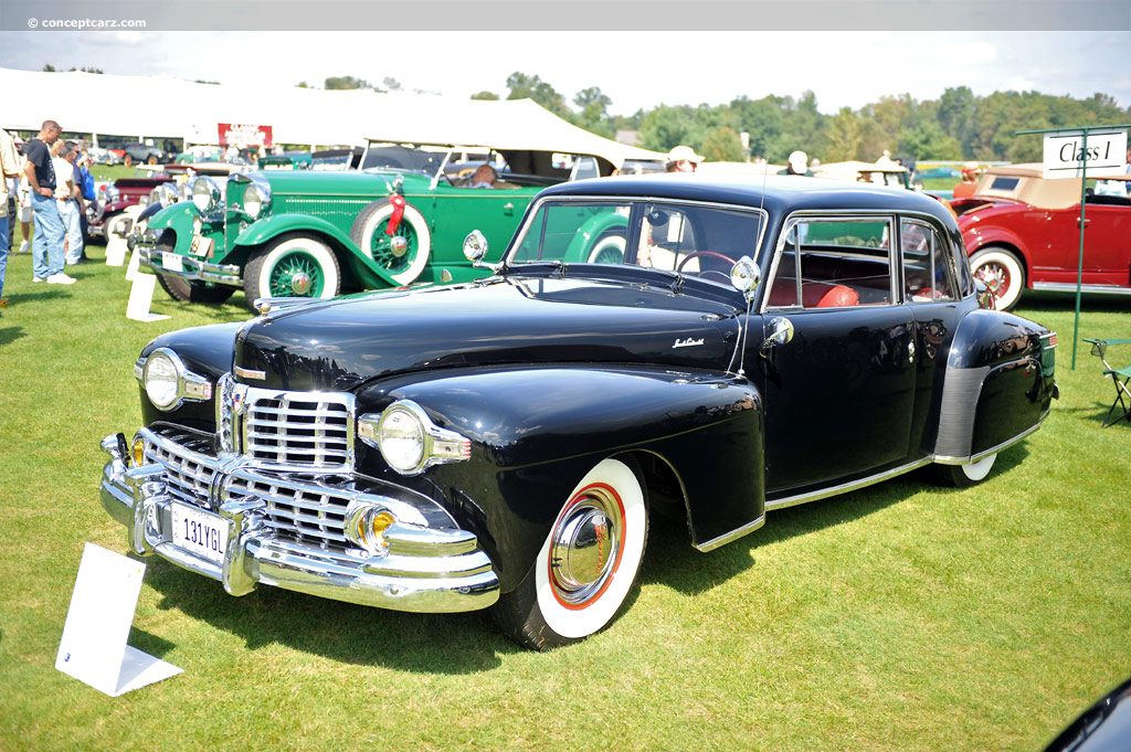 1947 Lincoln Continental Image