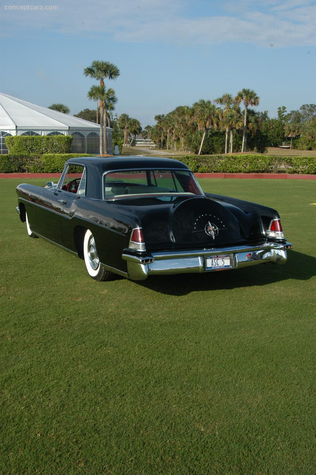 1957 lincoln continental mark ii at the palm beach international concours d. Black Bedroom Furniture Sets. Home Design Ideas