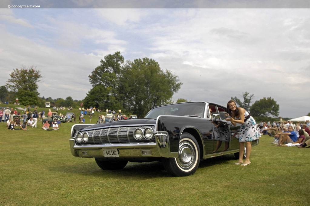 1964 lincoln continental conceptcarz. Black Bedroom Furniture Sets. Home Design Ideas