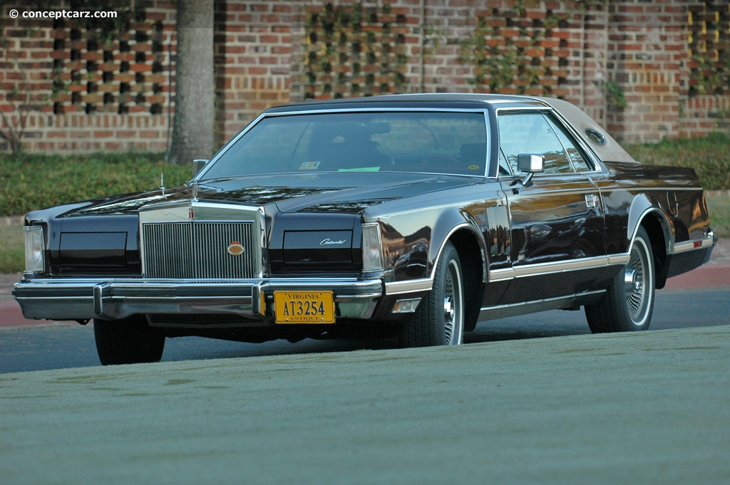 1978 lincoln continental mark v conceptcarzcom