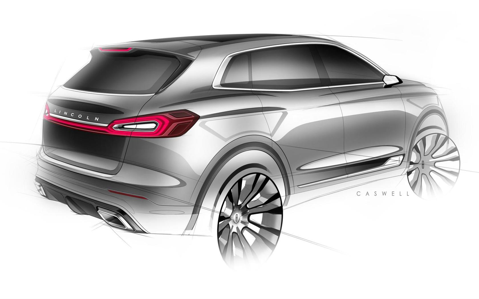 2015 Lincoln MKX Concept Images. Photo: Lincoln-MKX_Concept-2015-Photo