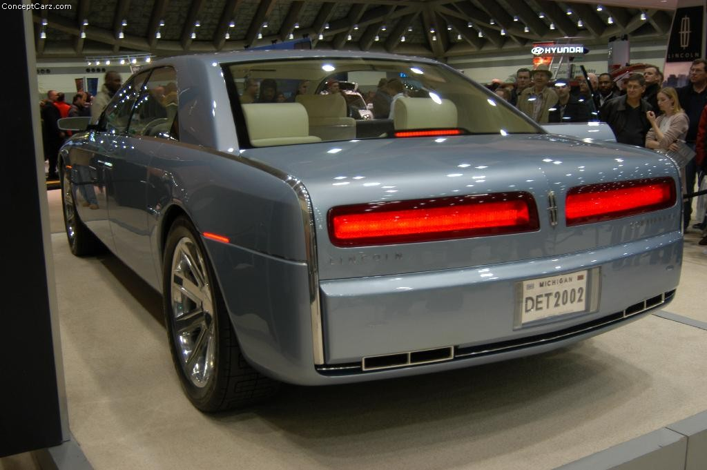2002 Lincoln Continental Concept Image