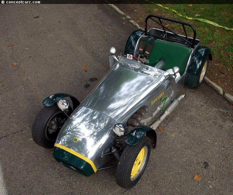 Caterham Super 7 Specs: 1958 Lotus Seven Image