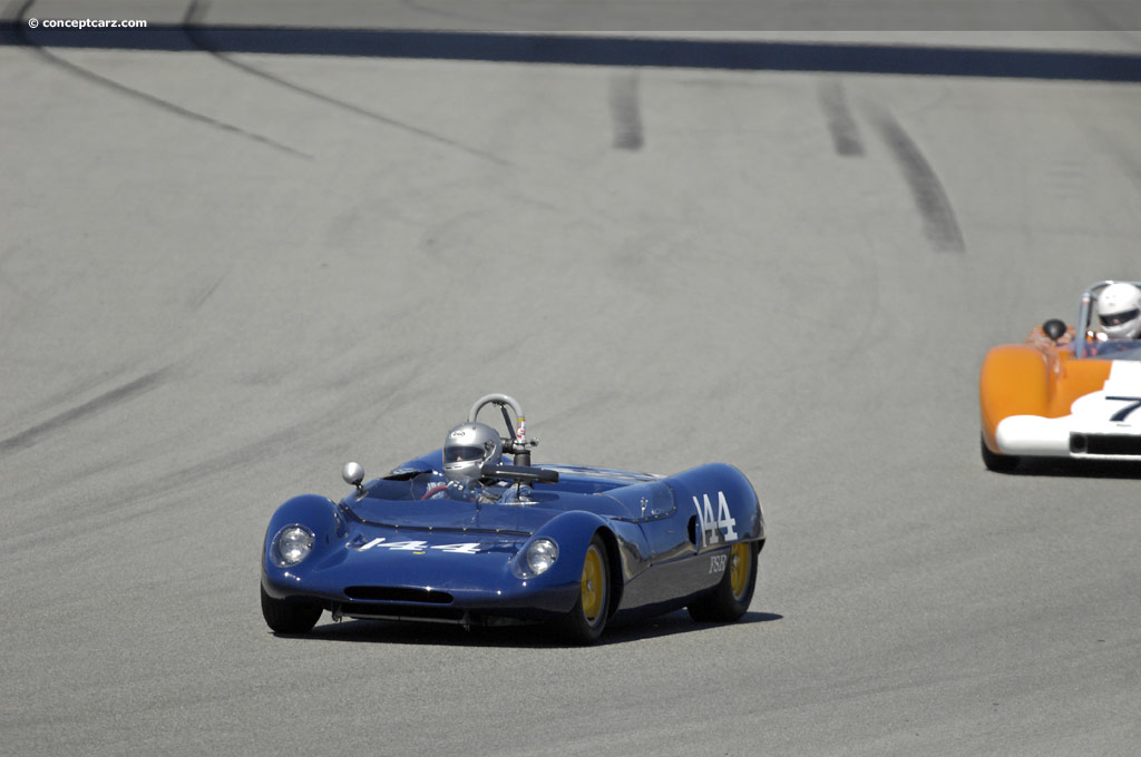 1963 Lotus 23b Image Chassis Number 23 S 42