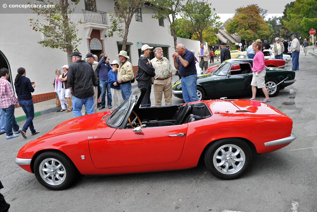 1965 Lotus Elan S2 chassis information