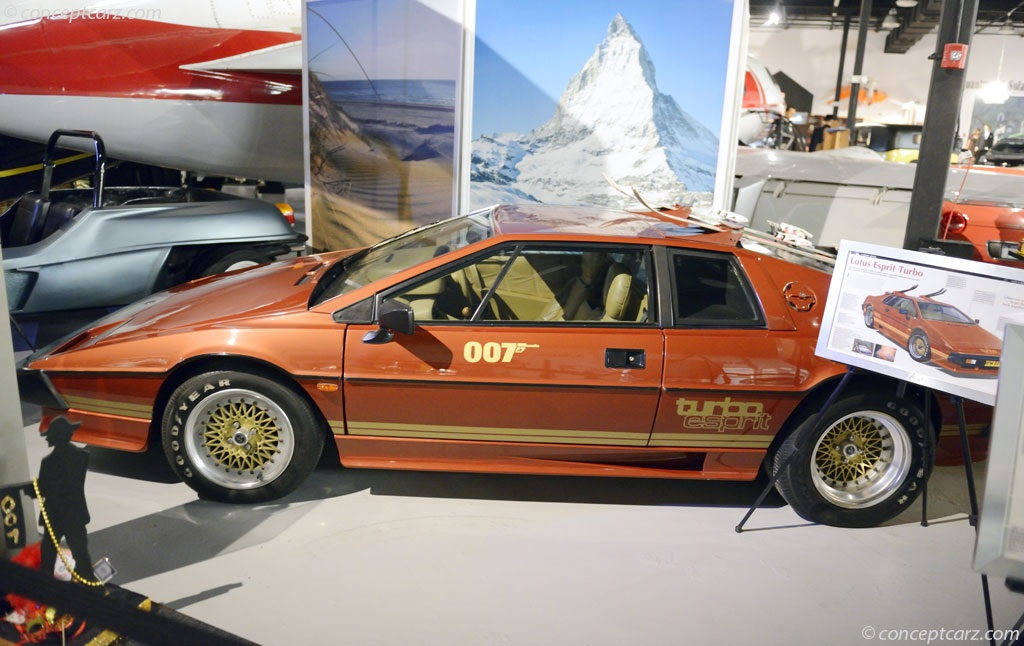 note the images shown are representations of the 1980 lotus esprit