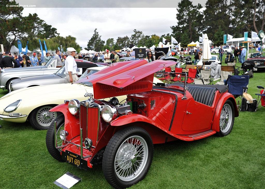 1947 MG TC Image