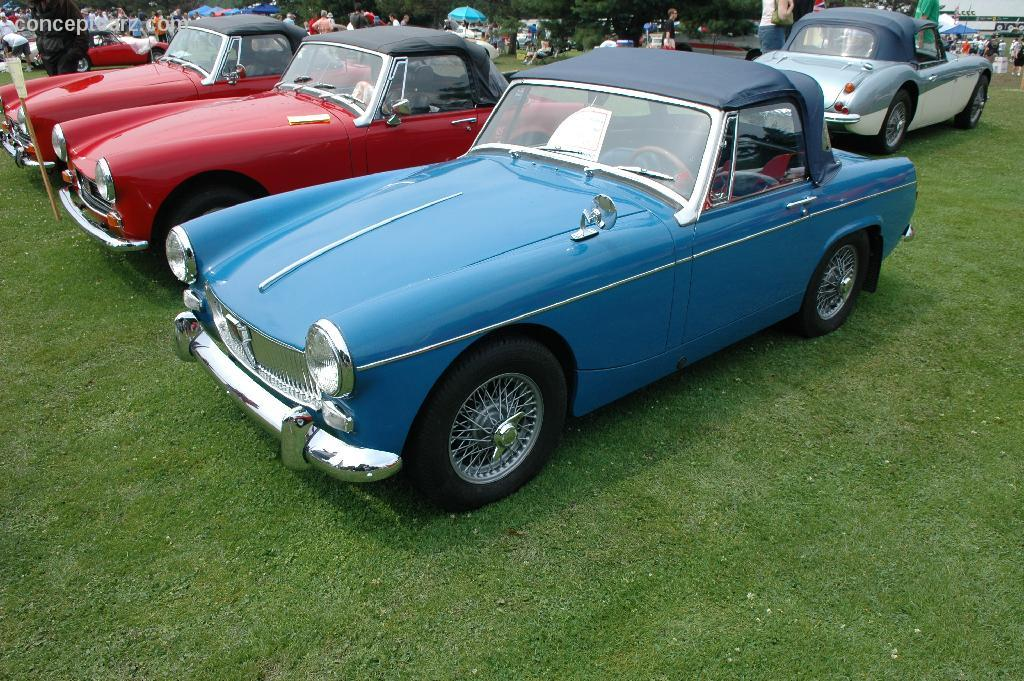 Mg midget specifications track
