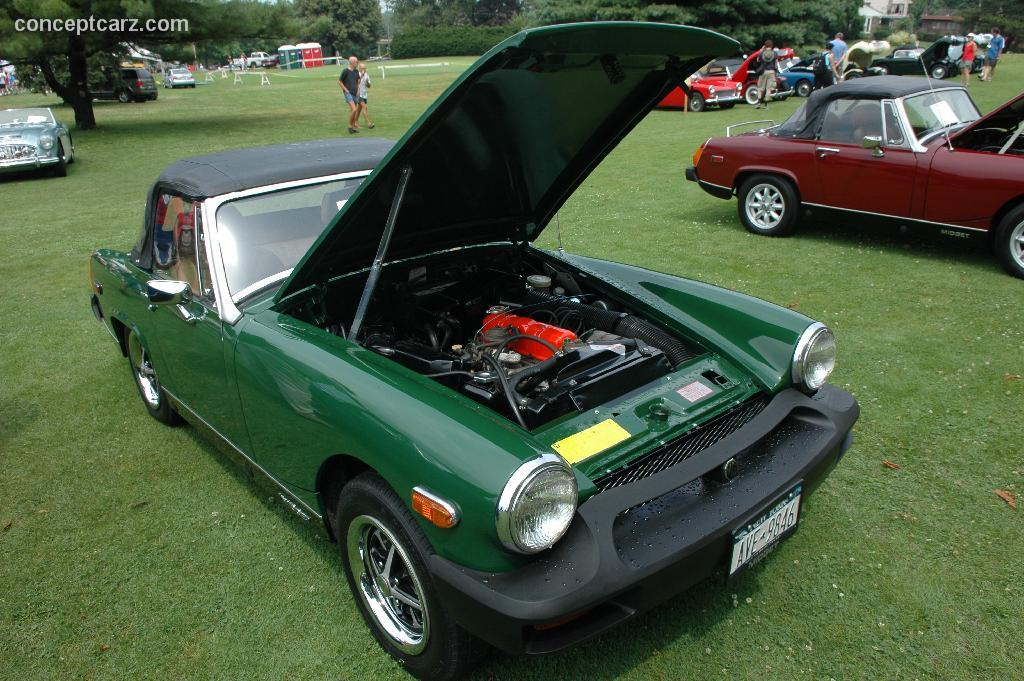 Mg midget dimensions are not