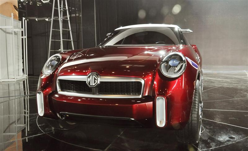 2012 MG Icon Concept Image