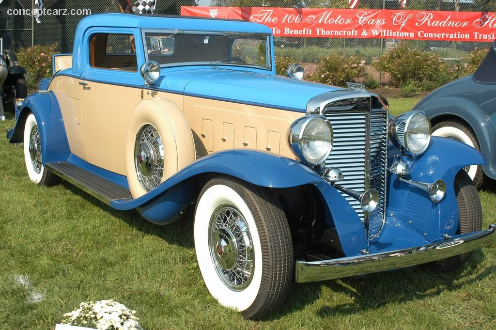 Marmon Model At The The Motor Cars Of Radnor Hunt