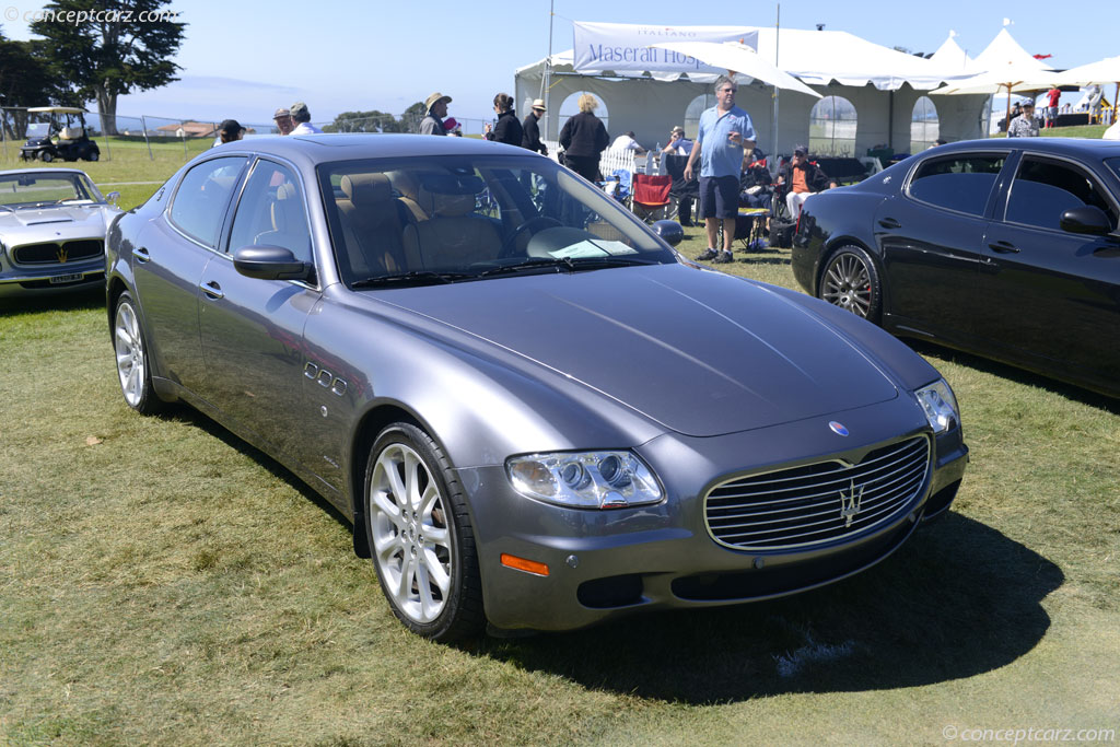 auction results and data for 2005 maserati quattroporte. Black Bedroom Furniture Sets. Home Design Ideas