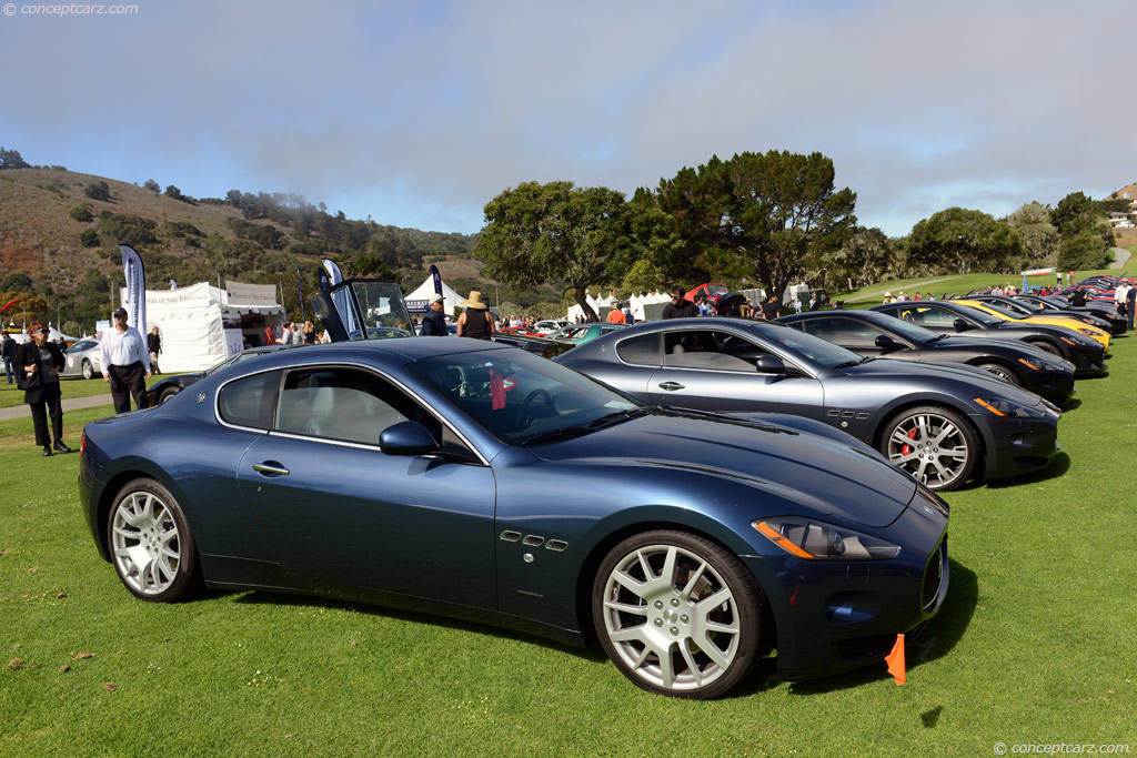 2008 maserati granturismo s at the 28th annual concorso. Black Bedroom Furniture Sets. Home Design Ideas